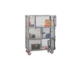 6 DOOR MOBILE STORAGE LOCKER