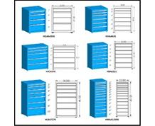 "21"" DEPTH DRAWER CABINETS"